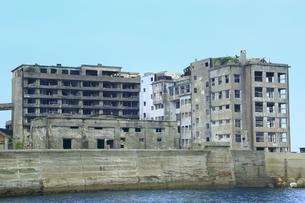 長崎 軍艦島の写真素材 [FYI03226791]