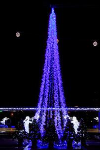 茨城県立県民文化センターのクリスマスイルミネーションの写真素材 [FYI03226932]