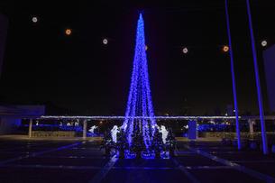 茨城県立県民文化センターのクリスマスイルミネーションの写真素材 [FYI03226940]
