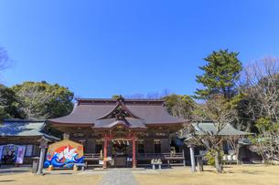 大洗磯前神社 拝殿の写真素材 [FYI03227083]