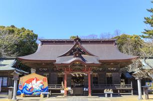 大洗磯前神社 拝殿の写真素材 [FYI03227087]