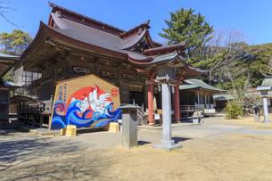 大洗磯前神社 拝殿の写真素材 [FYI03227089]
