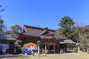大洗磯前神社 拝殿の写真素材 [FYI03227091]