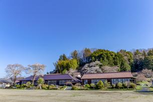 旧上岡小学校の写真素材 [FYI03227119]