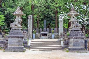 白虎隊の墓の写真素材 [FYI03227208]