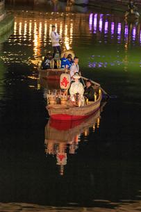 水郷潮来 嫁入り船の写真素材 [FYI03227253]