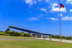 国営ひたち海浜公園 翼ゲートの写真素材 [FYI03227267]
