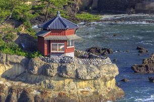 五浦海岸の六角堂の写真素材 [FYI03227353]