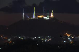 室蘭工場夜景の写真素材 [FYI03228167]