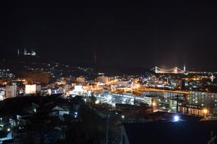 室蘭工場夜景の写真素材 [FYI03228178]