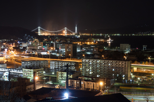 室蘭工場夜景の写真素材 [FYI03228184]