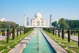 タージ・マハル、インドの写真素材 [FYI03228566]