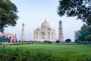タージ・マハル、インドの写真素材 [FYI03228567]