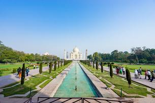 タージ・マハル、インドの写真素材 [FYI03228570]