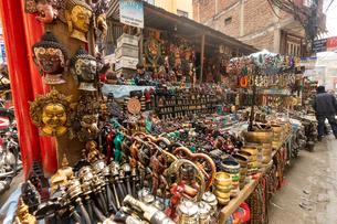 カトマンズ、ネパールの写真素材 [FYI03228588]