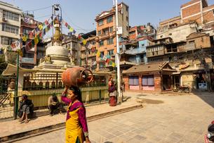 カトマンズ、ネパールの写真素材 [FYI03228592]