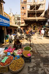 カトマンズ、ネパールの写真素材 [FYI03228593]