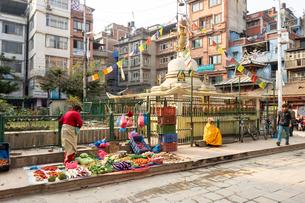 カトマンズ、ネパールの写真素材 [FYI03228597]
