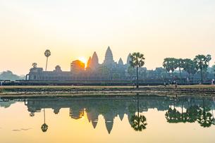 アンコールワット、カンボジアの写真素材 [FYI03228601]