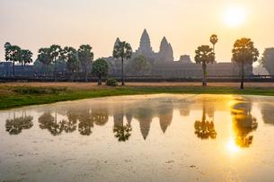 アンコールワット、カンボジアの写真素材 [FYI03228609]