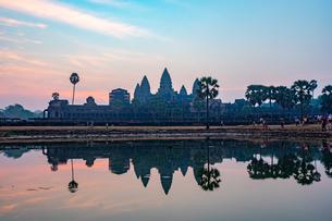 アンコールワット、カンボジアの写真素材 [FYI03228611]