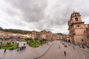 クスコの街並み、ペルーの写真素材 [FYI03228648]