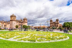 クスコの街並み、ペルーの写真素材 [FYI03228649]