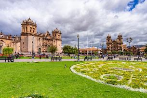 クスコの街並み、ペルーの写真素材 [FYI03228659]