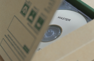 CD(MASTER)の写真素材 [FYI03228705]
