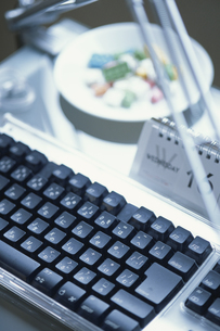黒いキーボードの写真素材 [FYI03228726]