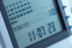電子時計の写真素材 [FYI03228887]