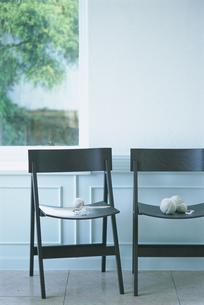 黒椅子の写真素材 [FYI03229128]