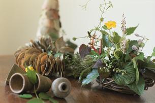 和風なイメージの花の写真素材 [FYI03229902]