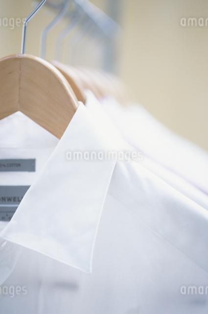 ハンガーにかかったシャツの写真素材 [FYI03230260]