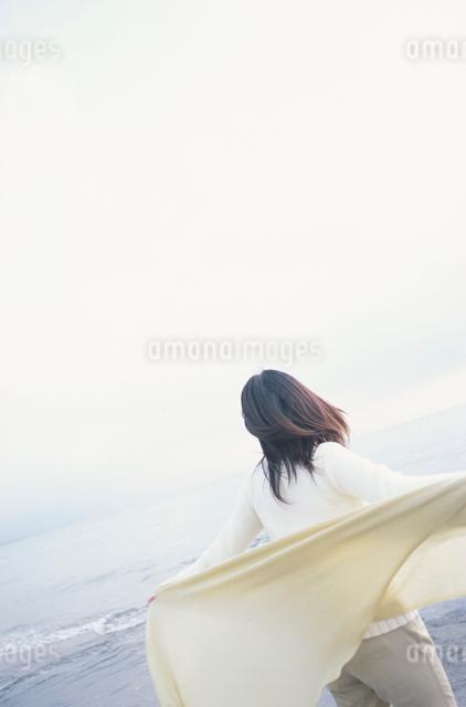 日本人女性後ろ姿の写真素材 [FYI03230353]