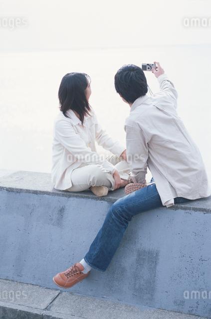 日本人のカップルの写真素材 [FYI03230364]