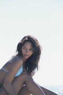 水着の外国人女性の写真素材 [FYI03230442]