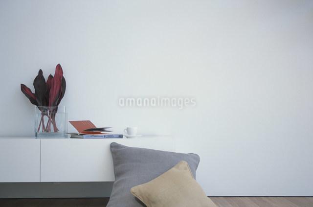 棚とクッションの写真素材 [FYI03230743]