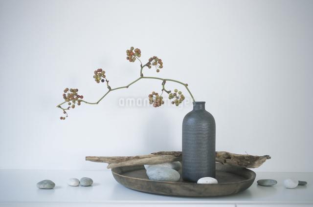 花瓶に入った花の写真素材 [FYI03231084]