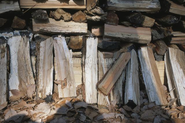 薪の写真素材 [FYI03231258]