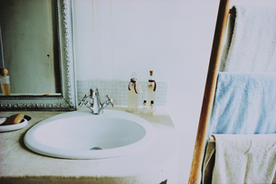 洗面台の写真素材 [FYI03232171]