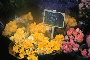 花屋の花束の写真素材 [FYI03233040]