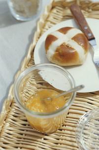 パンとマーマレードの写真素材 [FYI03235288]