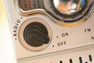 ラジオの写真素材 [FYI03235504]