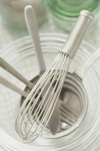 ステンレスの調理器具の写真素材 [FYI03235804]
