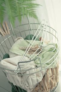 洗濯かごの写真素材 [FYI03235909]