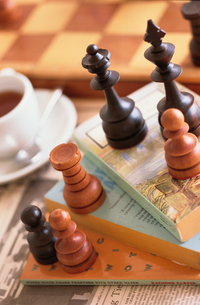 チェスセットの写真素材 [FYI03236920]