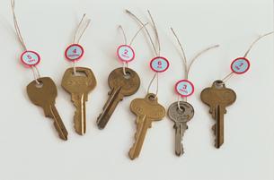 鍵の写真素材 [FYI03236992]