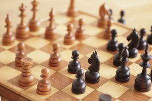 チェスセットの写真素材 [FYI03237138]
