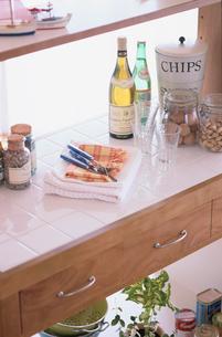 キッチンと小物の写真素材 [FYI03237244]